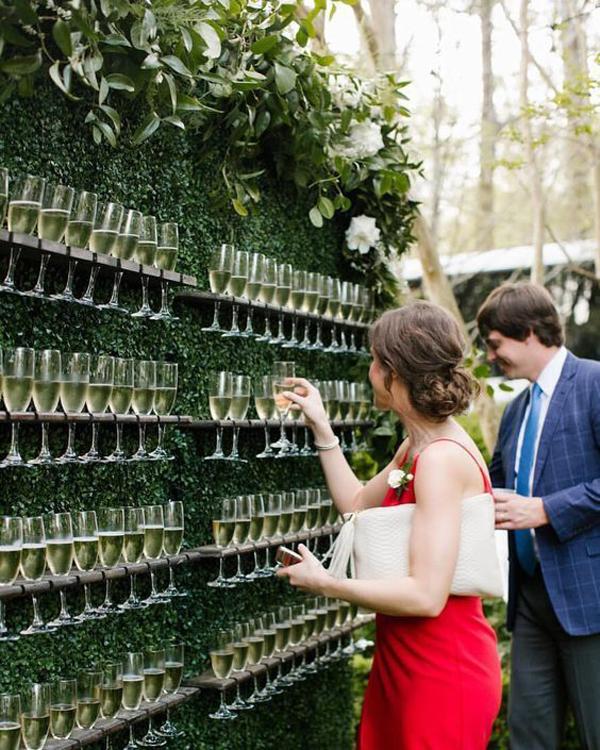 Outdoor Wedding Bar Ideas: 25 Outdoor Wedding Drink Station And Bar Ideas For Summer