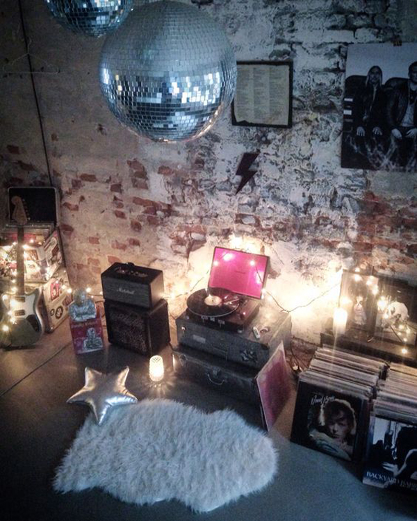 Shabby Chic Rock N Roll Decorations Home Design And Interior