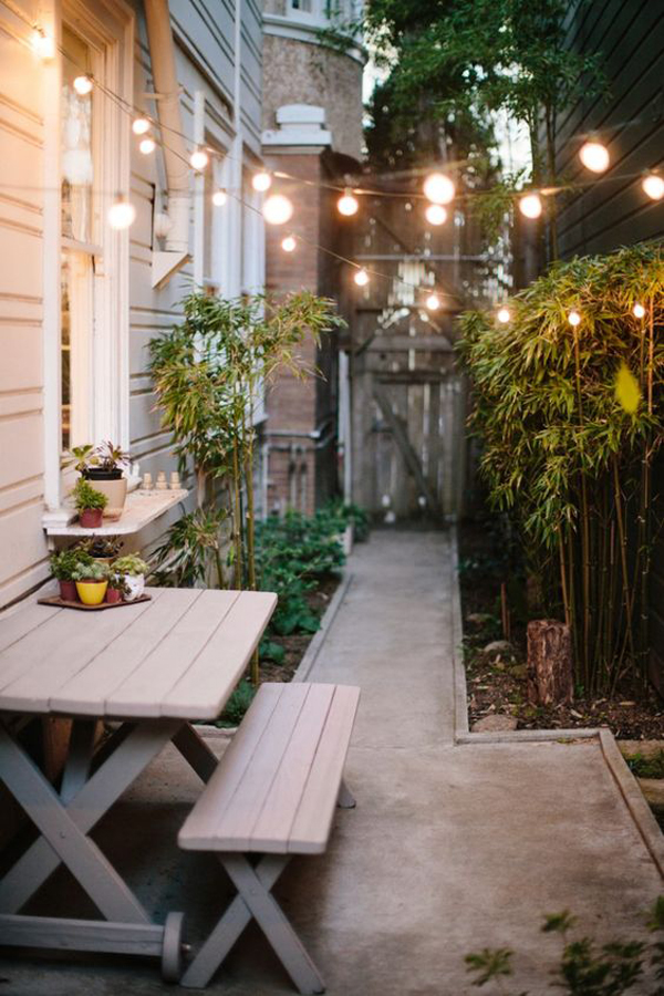 20 Tiny Courtyard Garden With Cozy Seating Homemydesign