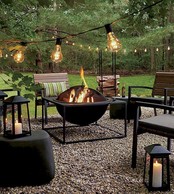 40 Beautiful Fire Pit Ideas To Warm Up Your Outdoor Living ...
