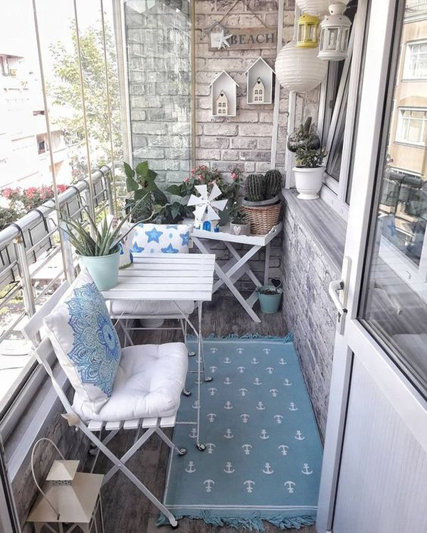 25 Best Choice For Closed Balcony To Cozy In All Season