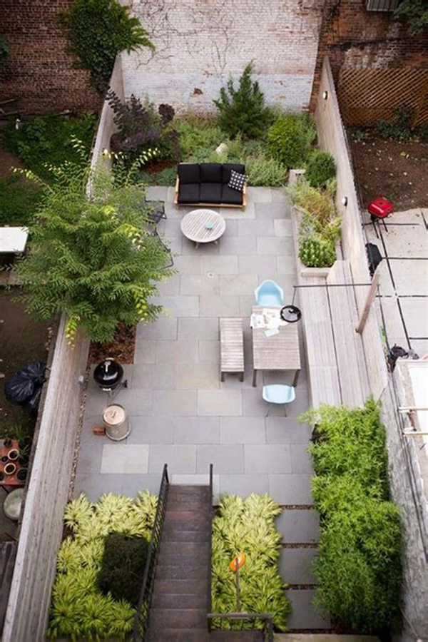 35 Modern Front Yard Landscaping Ideas With Urban Style ... on Backyard Garden Layout id=49205