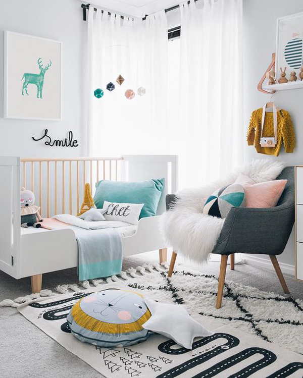 42 Fantastic Baby Bedroom Ideas With Play Areas Homemydesign