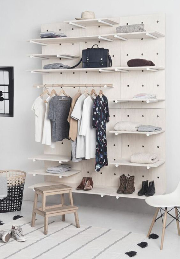 Diy-pegboard-wardrobe-ideas