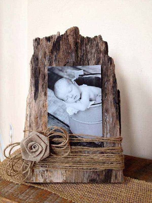 Easy Diy Driftwood Photo Frames Homemydesign