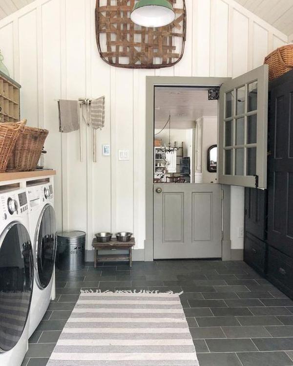 43 Small Farmhouse Laundry Room Ideas Look Bigger ...
