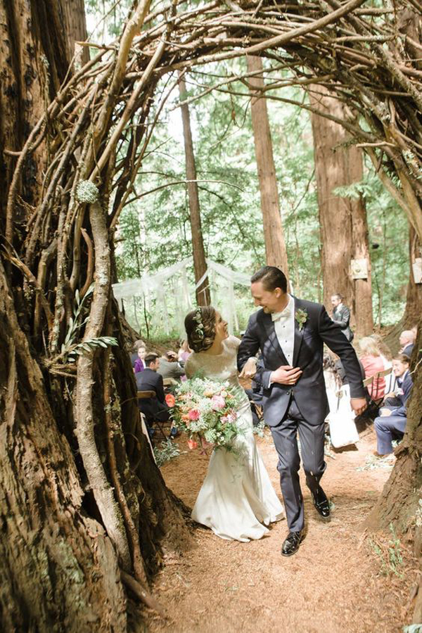 60 Forest Themed Wedding Ideas That Beautiful For Summer ...