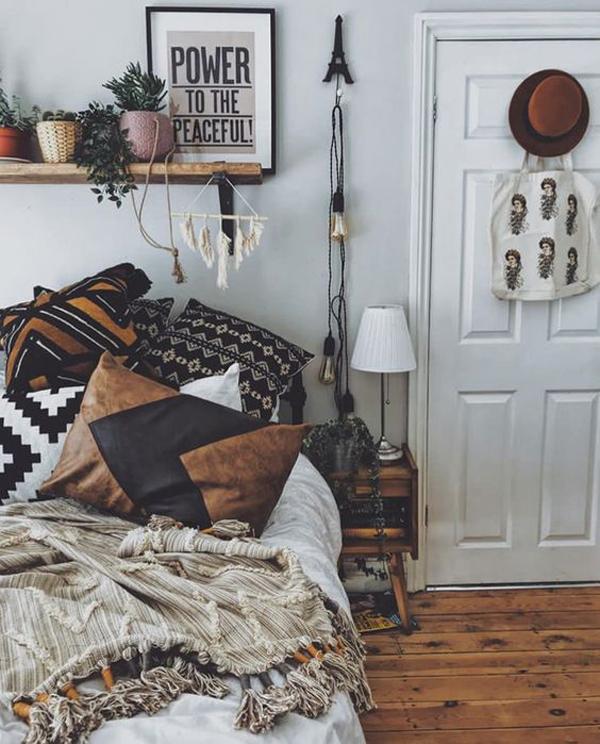 Boho Chic Bedroom Ideas For Teen Girls Homemydesign