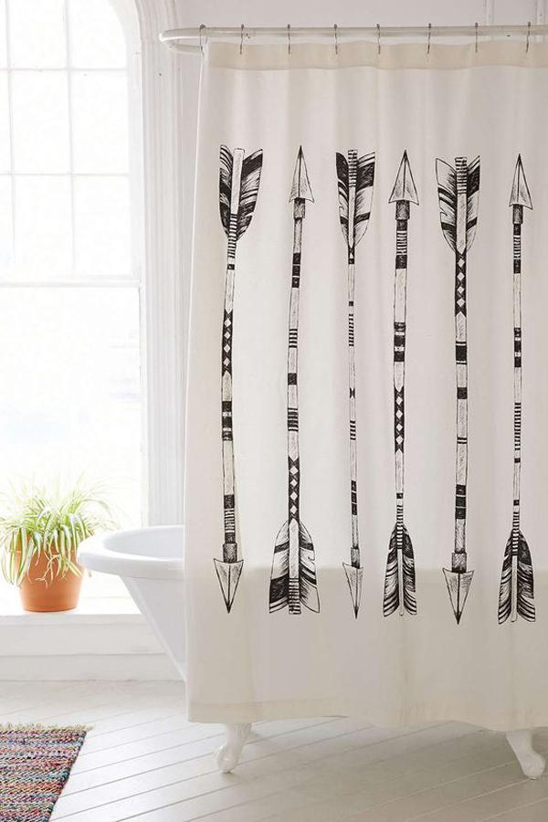 copper-shower-curtain-decor-ideas   HomeMydesign
