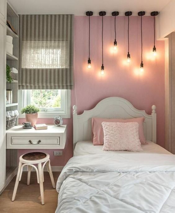 48 Trendy Girls Bedroom Ideas That Dream Space Teenagers ... on Trendy Teenage Room Decor  id=47141