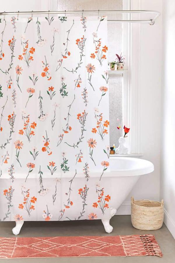 Luxury Kids Room: Georgina-floral-shower-curtain-ideas