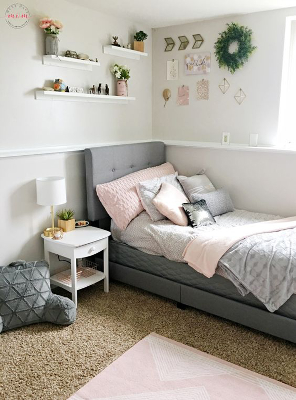 gorgeous-blush-and-grey-bedroom-makeover-for-teen-girl