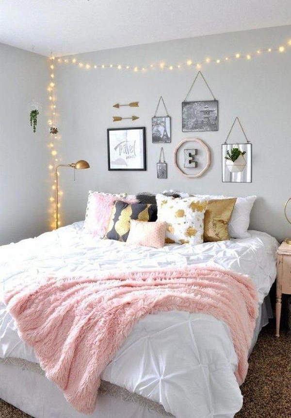 modern-teen-girl-bedroom-makeover | Home Design And Interior