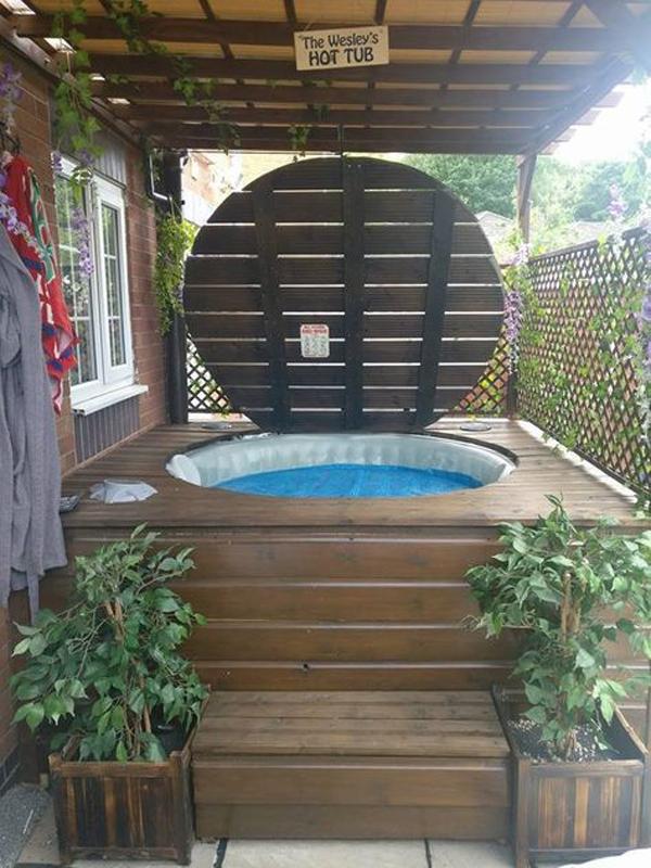 Outdoor Hot Tub Gazebo Cover Ideas