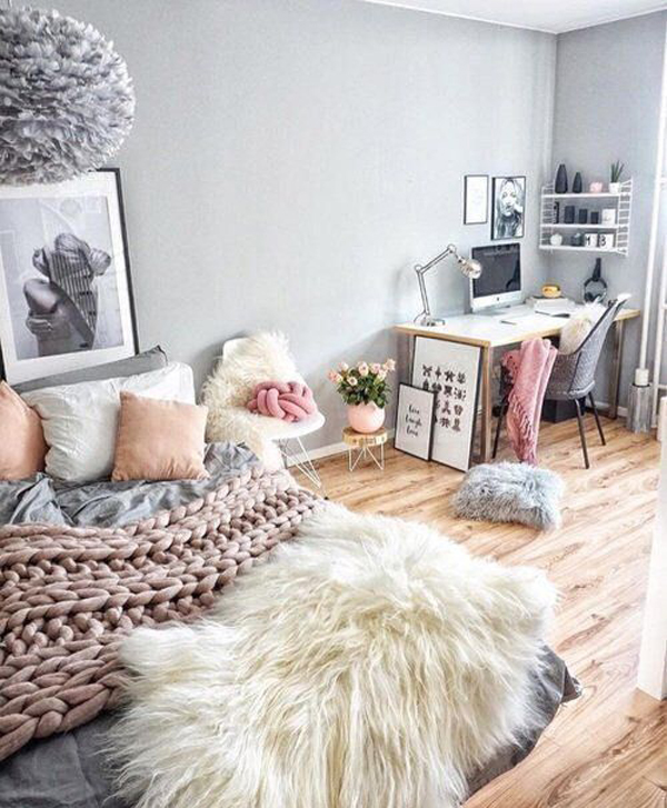 Warm And Cozy Bedroom For Teen Girl Homemydesign