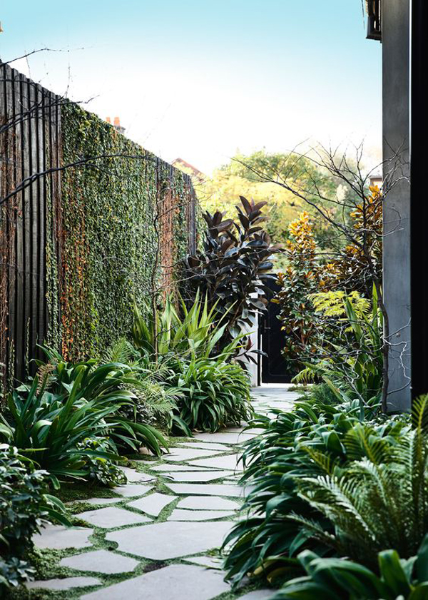 35 Exciting Side House Garden Ideas With Walkway Homemydesign
