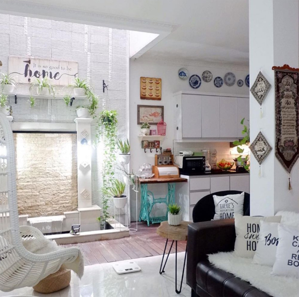 Cool Indoor Fish Pond Ideas For Living Room Homemydesign