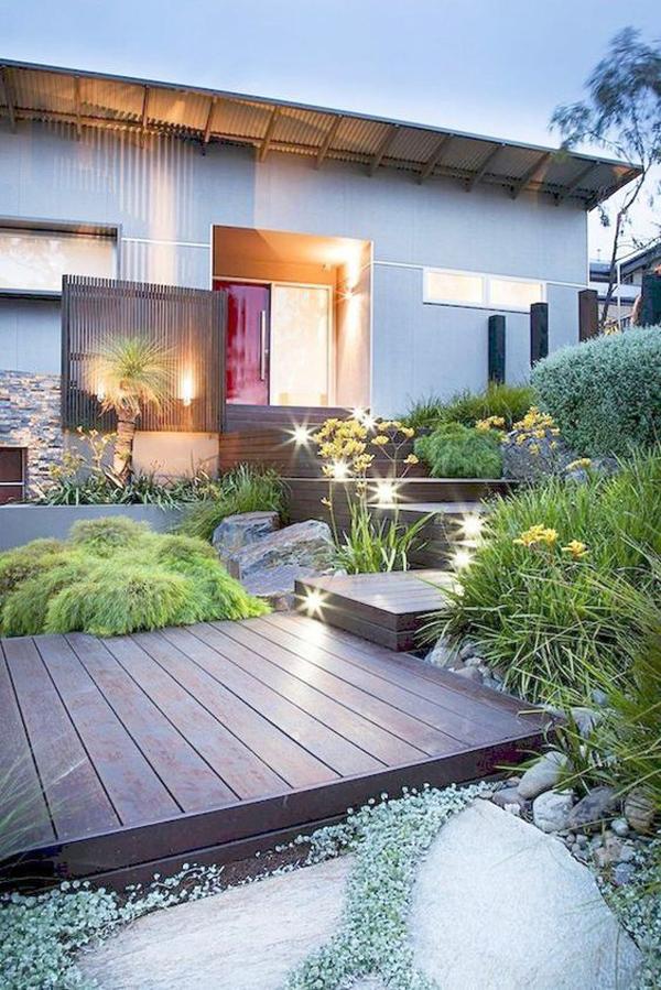 35 Modern Landscape Design Ideas For Minimalist Courtyard ...