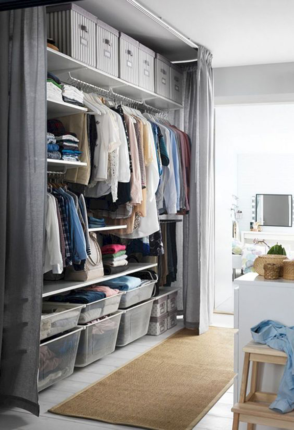 best-bedroom-storage-ideas-with-open-closets | Home Design And Interior
