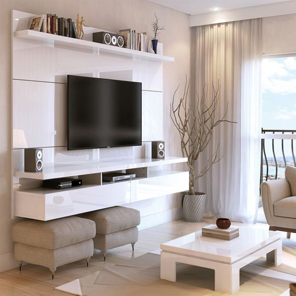 Floating-home-entertainment-system-ideas
