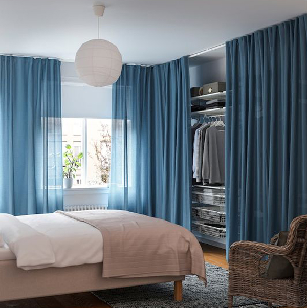 30 simple and modern open closet ideas for your bedroom