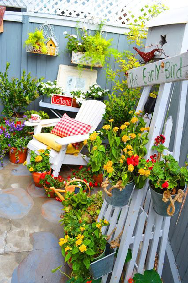 30 Most Creative And Organized Garden Ideas For Small ...