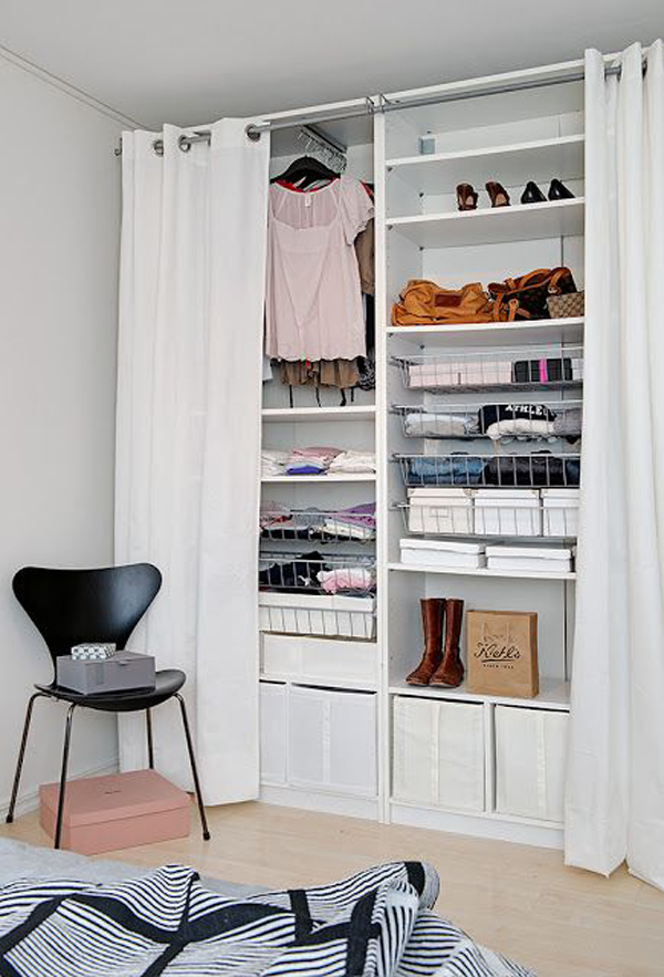Home Design Ideas Small Spaces: Simple-open-closet-design-ideas-for-small-spaces