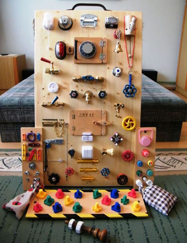 30 Creative DIY Busy Boards For Toddler Learning ...