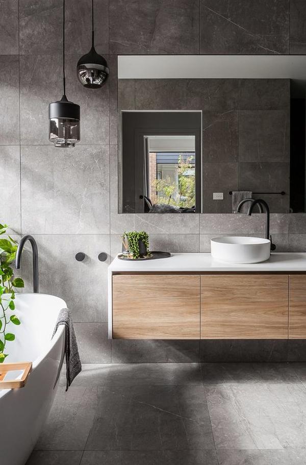 cozy-grey-bathroom-design-ideas - homemydesign