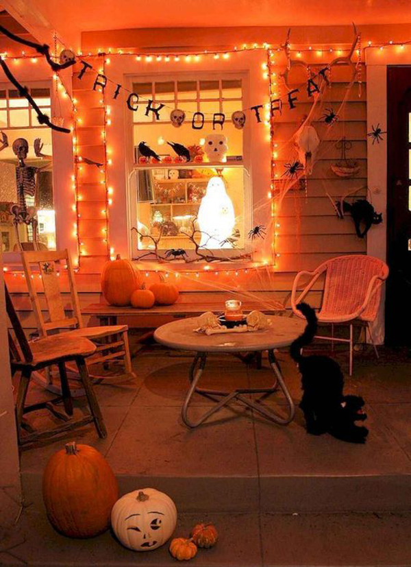 Outdoor Halloweenhome Design And Interior Home Design And
