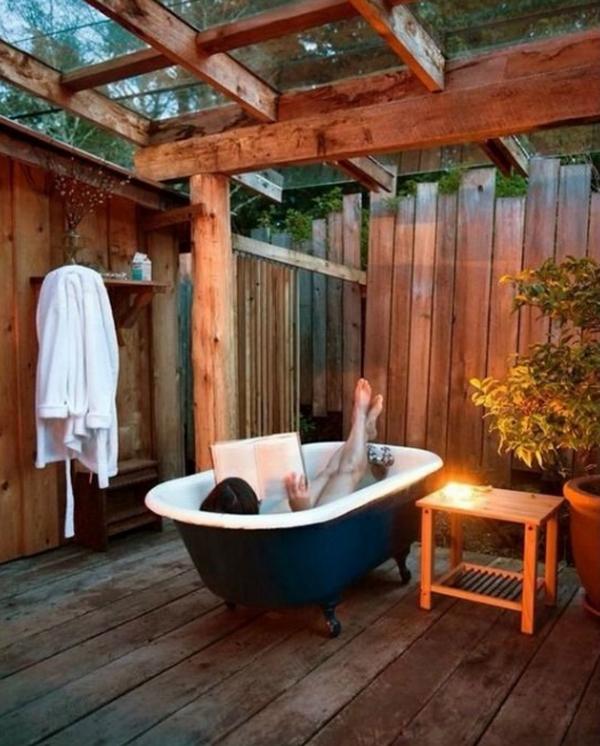 romantic-outdoor-bathtub-design-ideas – HomeMydesign
