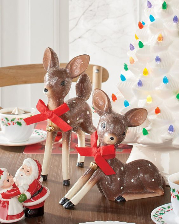 25 Cute Deer Table Setting Ideas For Christmas Party Homemydesign