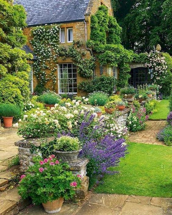 30 Modern Cottage Garden Ideas To Beautify Your Outdoor