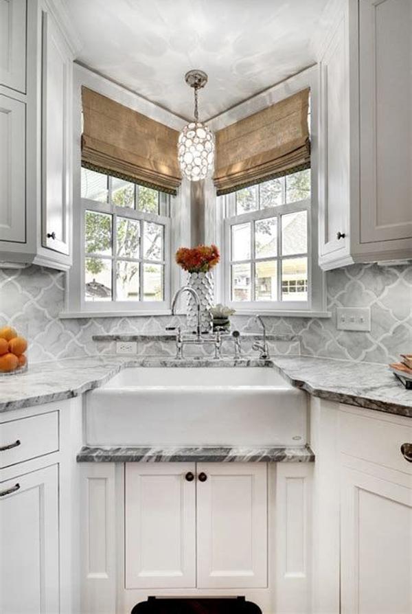 30 Best Corner Kitchen Sink Ideas For Small Spaces Homemydesign