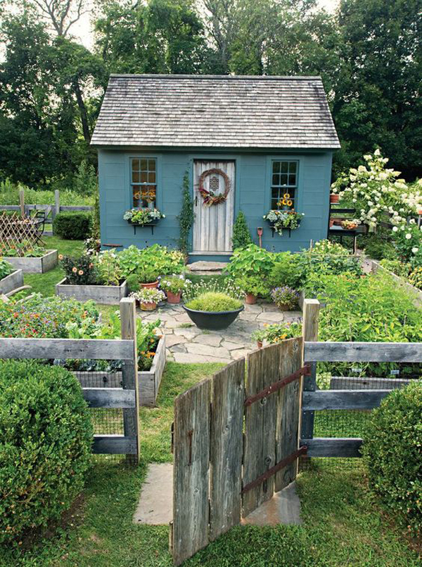 30 Modern Cottage Garden Ideas To Beautify Your Outdoor Homemydesign