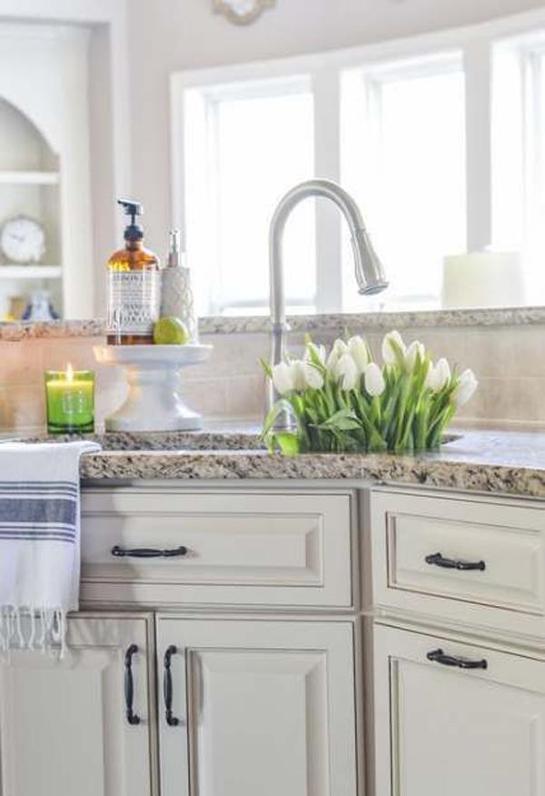 30 Best Corner Kitchen Sink Ideas For Small Spaces