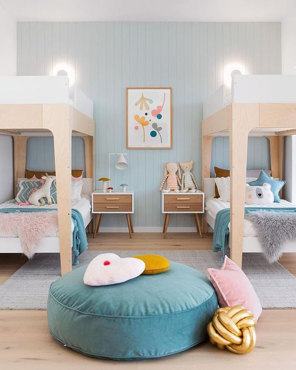 35 Fun And Cozy Shared Bedrooms For Two Kids