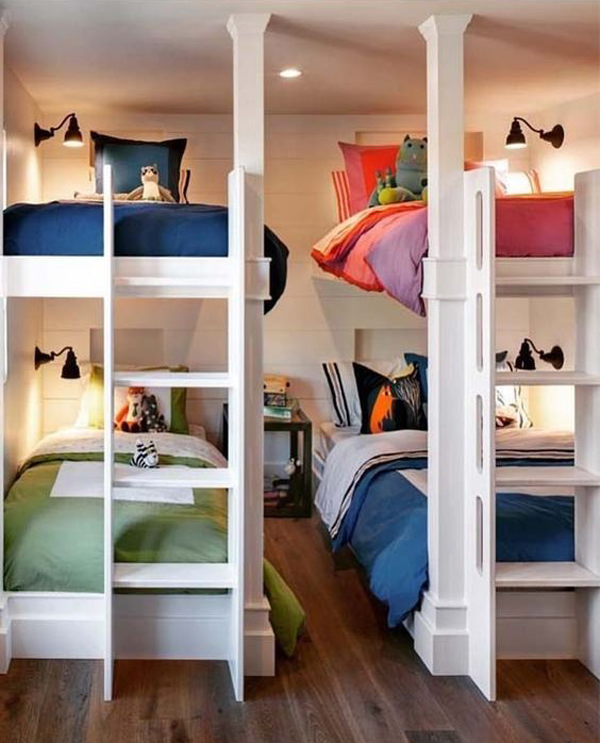 Bunk Bedideas: Cool- Bunk-bed-ideas -for-small-rooms HomeMydesign