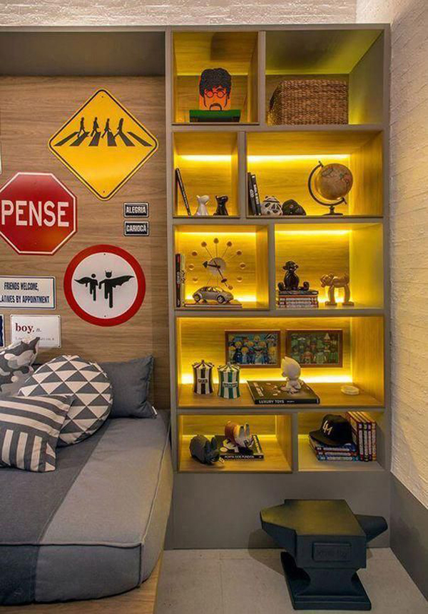 25 Cool Lighting Decor Ideas For Teen Boys Room Homemydesign