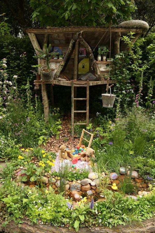 small-backyard-ideas-for-kids-secret-garden - HomeMydesign