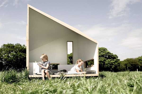 The Ilo Playhouses: Sustainable Dreamy Space For Kids And Adults