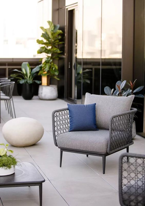 43 Modern Terrace Furniture Design To Beautify Your Outdoors