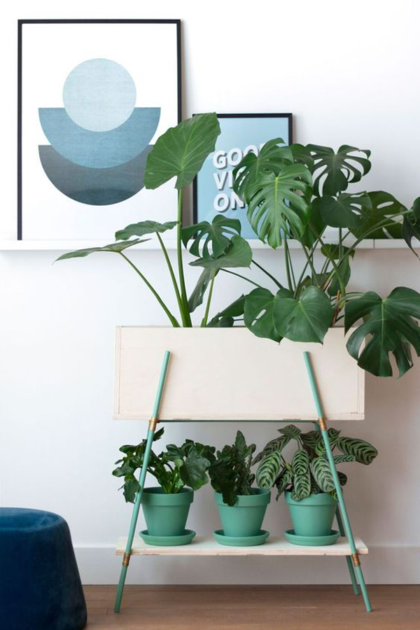 34 Modern And Stylish Standing Planter Ideas For Indoors