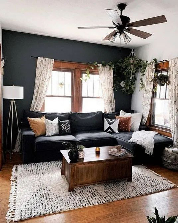 Home Decordesign Ideas: Small-bohemian-living-room- Decorating-ideas HomeMydesign