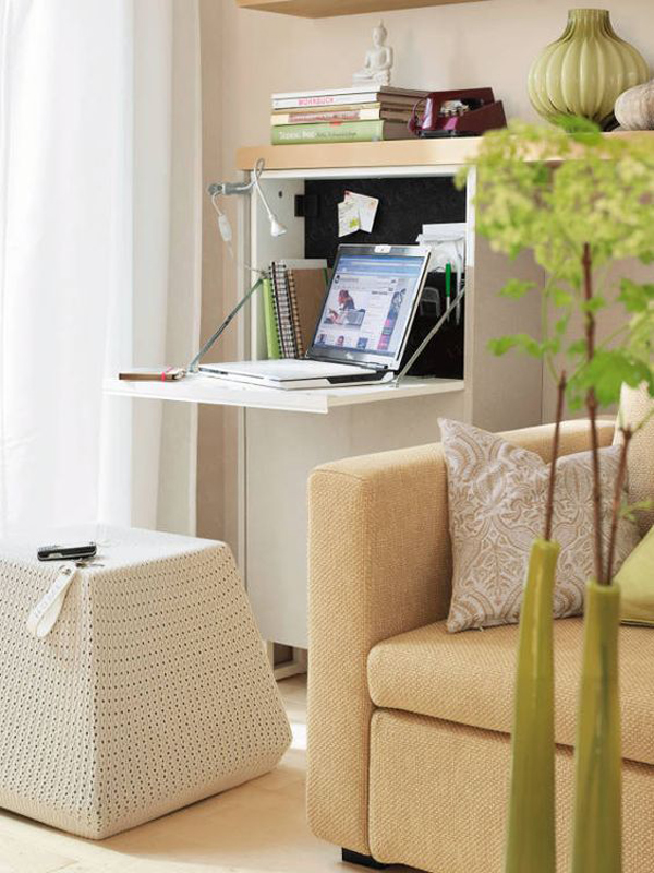 35 Functional Folding Desk Ideas For Small Space Solution