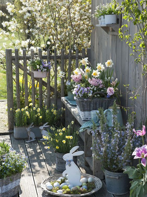 20 Prettiest Easter Gardens For Spring This Year