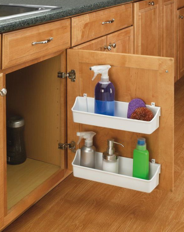 25 Brilliant Under-Sink Storage Ideas For Kitchen ...
