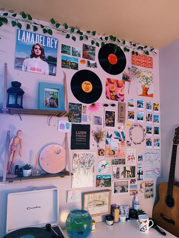 25 Cool Poster Decor Ideas For College Dorm Room ... on Room Decor Posters id=16453