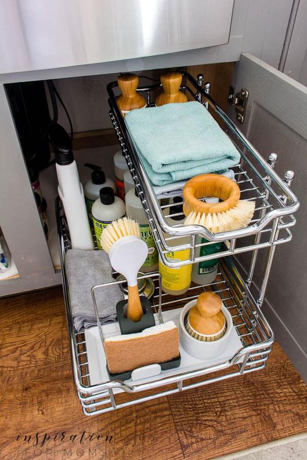 25 Brilliant Under Sink Storage Ideas For Kitchen Organizers Homemydesign