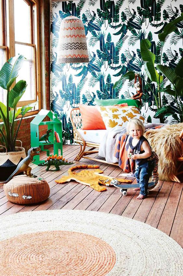 27 Fun Kids' Rooms With Tropical Theme
